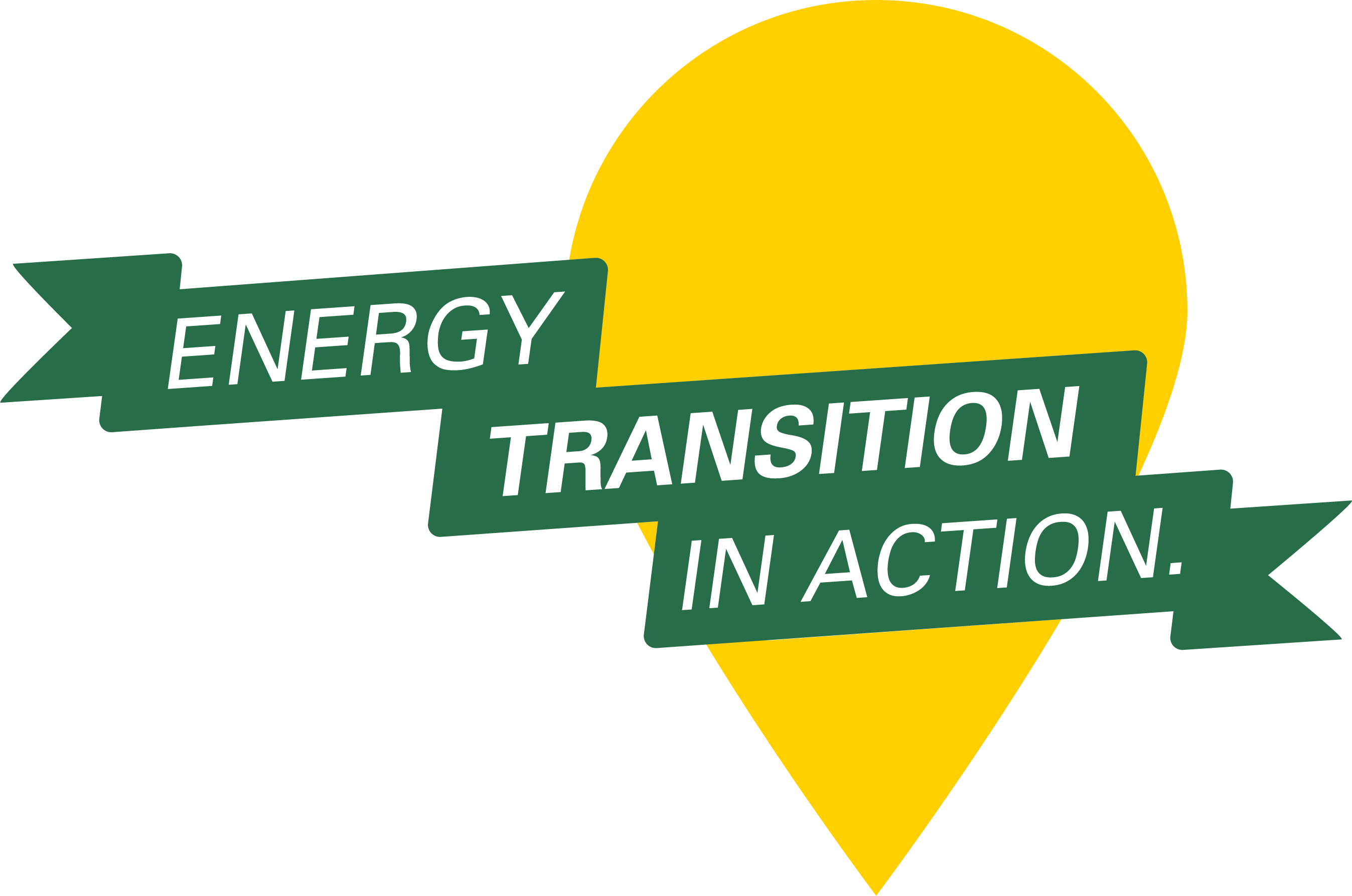 Logo of energy transition in action